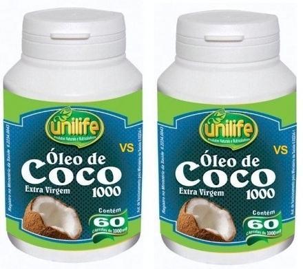 Óleo de coco em cápsulas para emagrecer