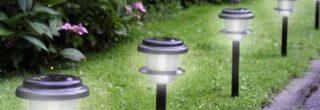 Luminárias para jardim 4