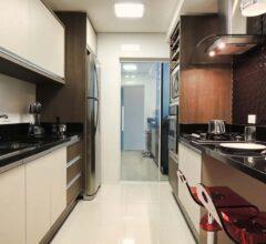 cozinha decorada pequena de apartamento 7