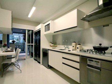 cozinhas decoradas com pastilhas de inox 3