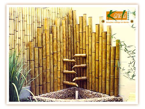 Como fazer uma decoração com bambu, quarto, jardim