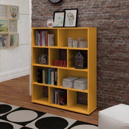 Estante para livros com portas de correr ou prateleira - Lack estante de pared ...