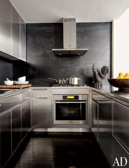 Cozinha De Apartamento Com Cooktop Bela Amp Feliz