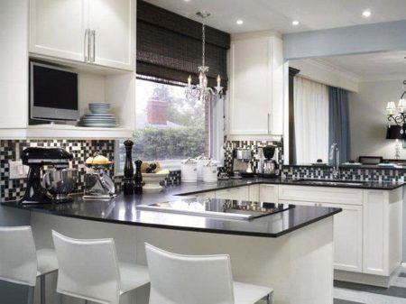 gosto mais alegre e ousado, neste modelo de decoração para cozinha