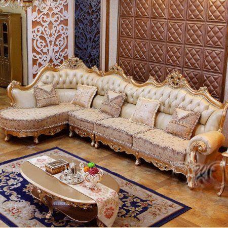 Sof de canto 5 lugares modernos para sala de estar bela for Sofa que vira beliche onde comprar