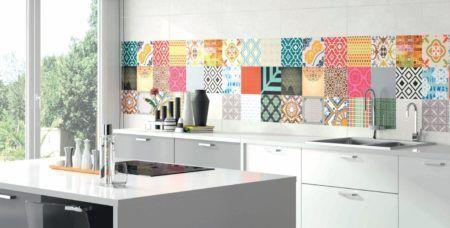 Decora o com pastilhas na cozinha estilos modernos - Azulejos rectificados cocina ...