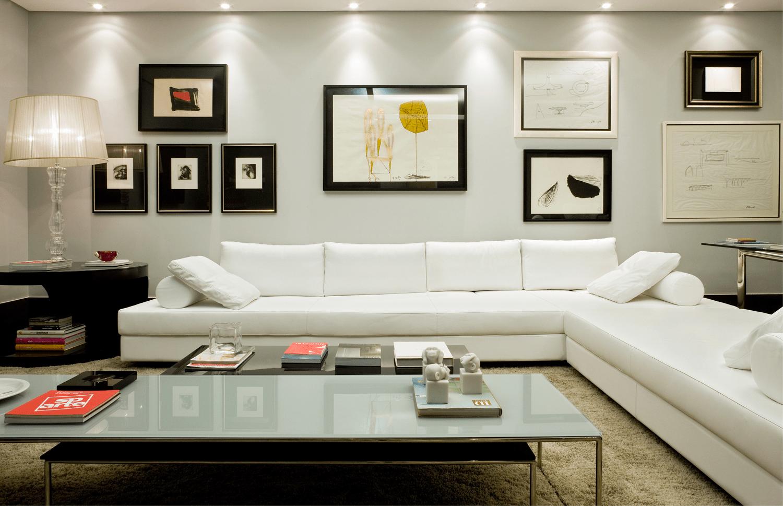 Lindos modelos de sof grande para sala grande bela feliz for Sala grande