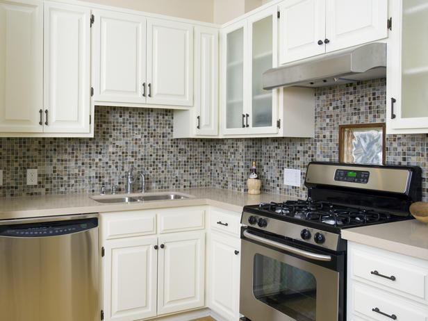 Cozinha decorada com pastilhas de vidro  Bela & Feliz # Cozinha Decorada Com Pastilha De Vidro