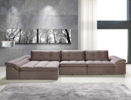 Sof s de alto padr o para apartamentos bela feliz for Sofas articulados modelos