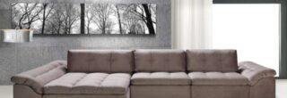 sofás de alto padrão para apartamentos 6