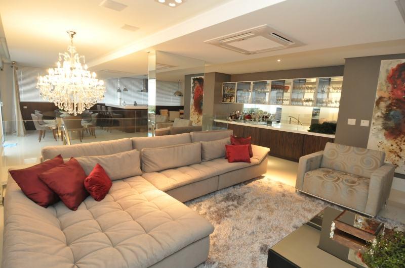 Lindos modelos de Sofá grande para sala grande