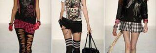 moda punk feminina