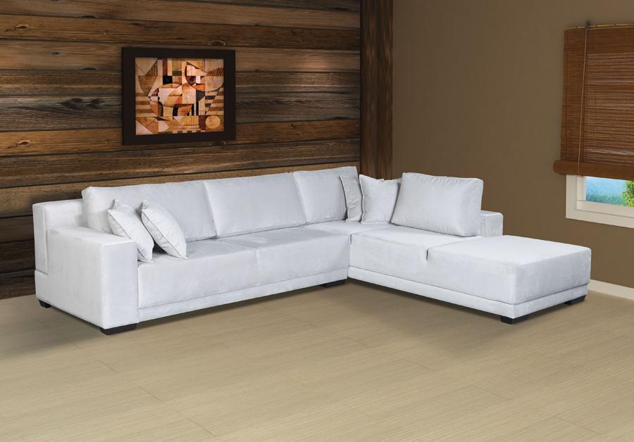 Modelos de sof de canto com chaise 4 lugares bela feliz for Sofa 5 lugares canto