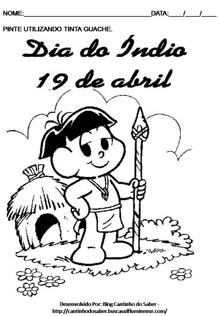 Dia do índio 19 de abril …devemos comemorar?