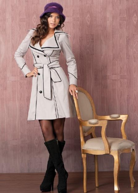 Como usar sobretudo com vestido moda inverno