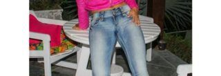 calcas jeans com spikes premium