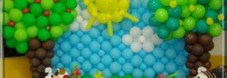 enfeites de baloes para aniversario