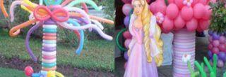 enfeites de baloes para aniversario de crianca
