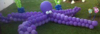 enfeites de baloes para aniversario lula