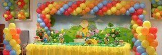 fotos de enfeites de baloes para aniversario