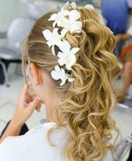 Lindos Penteados Para Dama De Honra De Casamento Bela Feliz