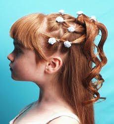 Lindos penteados para dama de honra de casamento