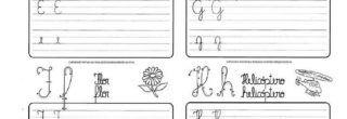 atividades para treinar a caligrafia para imprimir