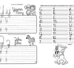 atividades para treinar a caligrafia para praticar