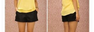 blusinha amarela moderna