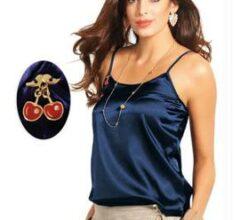 blusinha de cetim super moderna
