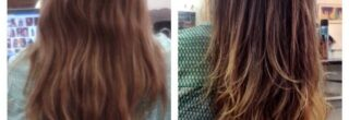 fotos de detox capilar antes e depois