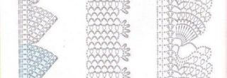graficos de croche para guardanapos receitas