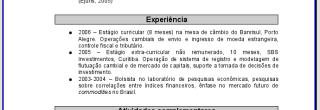 modelos de curriculum para imprimir