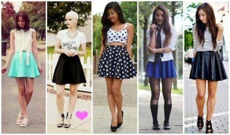 modelos de saias rodadas moda atual 3