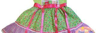 modelos de vestidos caipira infantil