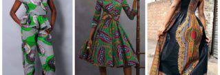 modernos vestidos curtos de capulana