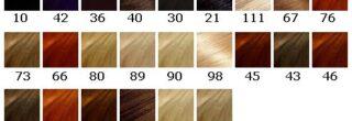 tabela de cores biocolor voce na moda