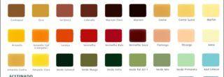 tabela de cores lukscolor