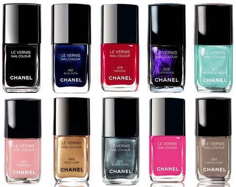 Esmaltes Chanel para suas unhas estarem mais decoradas e lindas