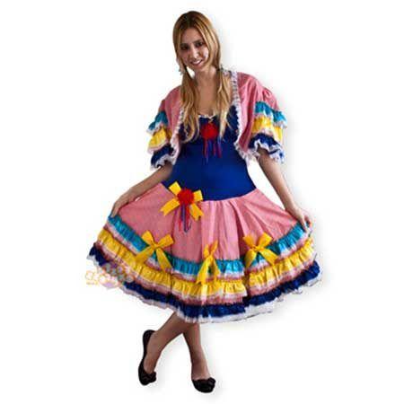 Modelos De Vestidos De Quadrilha Para Festa Junina De São