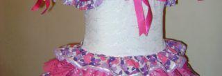 vestidos caipira infantil floridos
