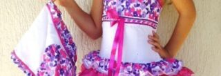 vestidos caipira infantil para festa junina