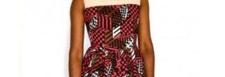 vestidos curtos de capulana