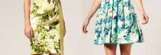 vestidos curtos de capulana floral