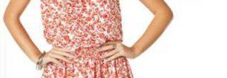 vestidos estampados florais