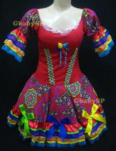 Comprar vestido de festa junina barato