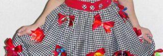 vestidos para festa junina xadrez