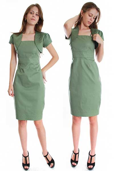 vestidos sociais basicos e modernos 3