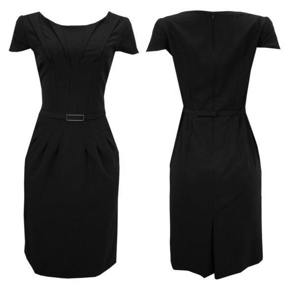 75cac84d1 Uma tendência ótima que pode ser aproveitada nos modelos destes vestidos é  a da tendência branco e preto, sofisticada e atual.