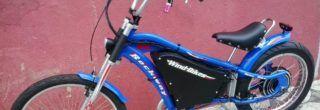 belas bicicleta chopper rockway